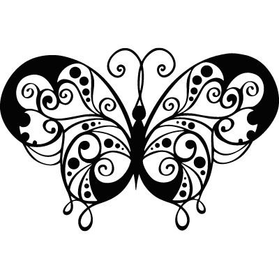 Animal Butterfly Flying Decorative Insect Flourish ID: 1606380389190